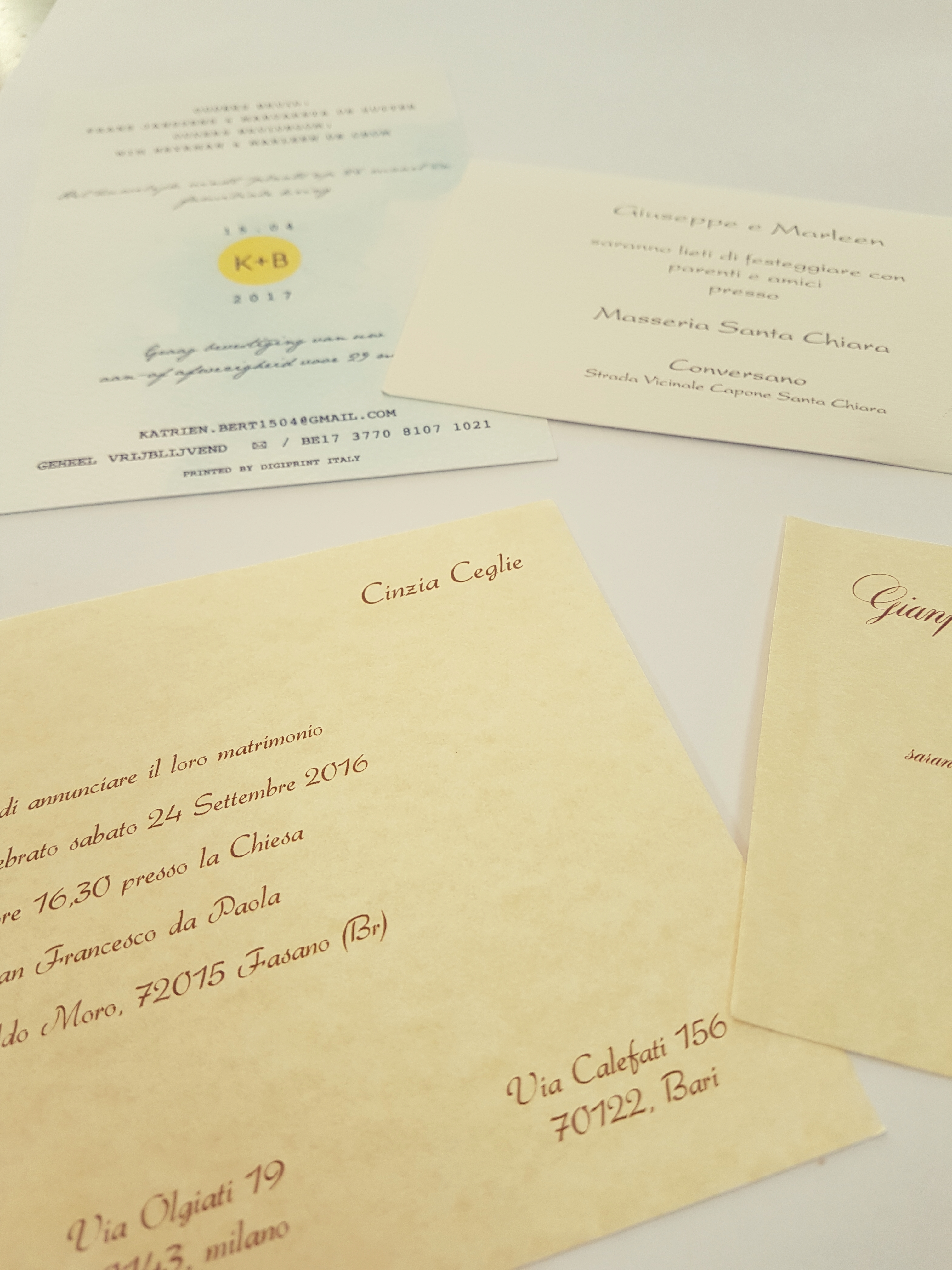 Partecipazioni Matrimonio Bari.Partecipazioni Di Nozze Digiprint Srl Bari